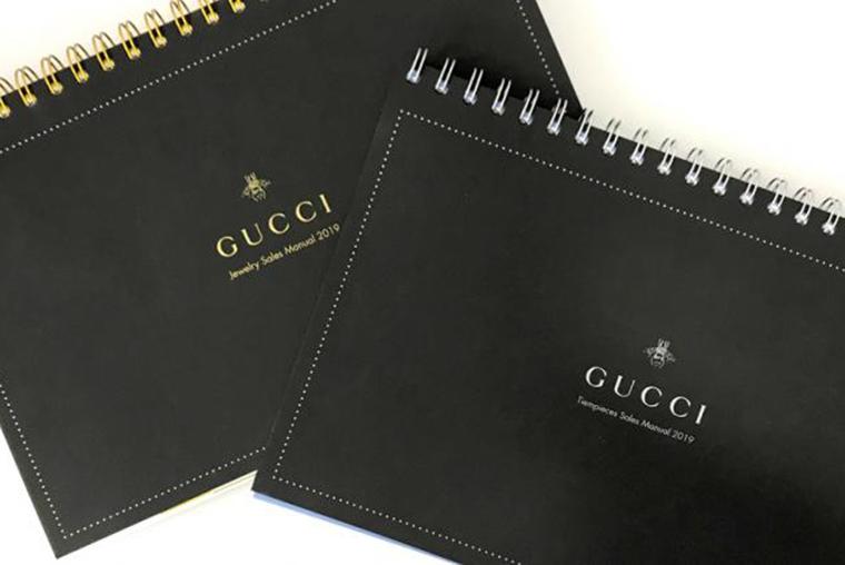 Rediseño catálogo Gucci