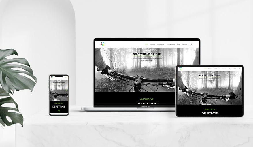 Diseño web fitness-dance-valladolid.com