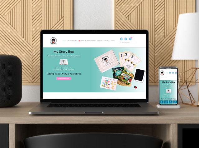 diseño web petitlondoner.com