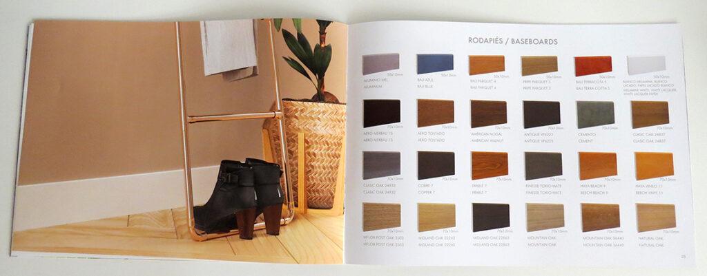 Catálogo rodapiés y tapetas antihumedad Disdoor